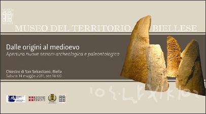 Apertura nuove sezioni archeologica e paleontologica