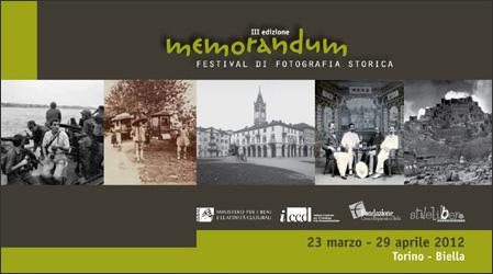 Memorandum Festival di fotografia storica