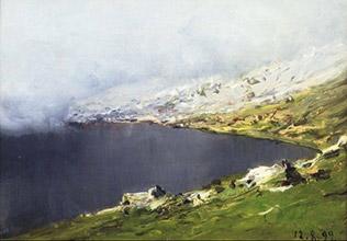 Lorenzo Delleani (Pollone, Biella 1840-Torino 1908)