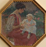 Gino Piccioni Donna con bambina
