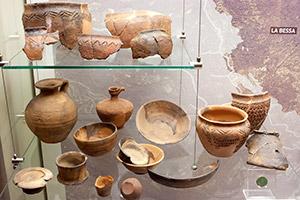 Sezione Archeologica. Età della romanizzazione. Bessa, Riserva Naturale Speciale